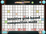 Intuitive grid-based composition mode